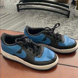 Blue and Black Air Force 1s (Youth)